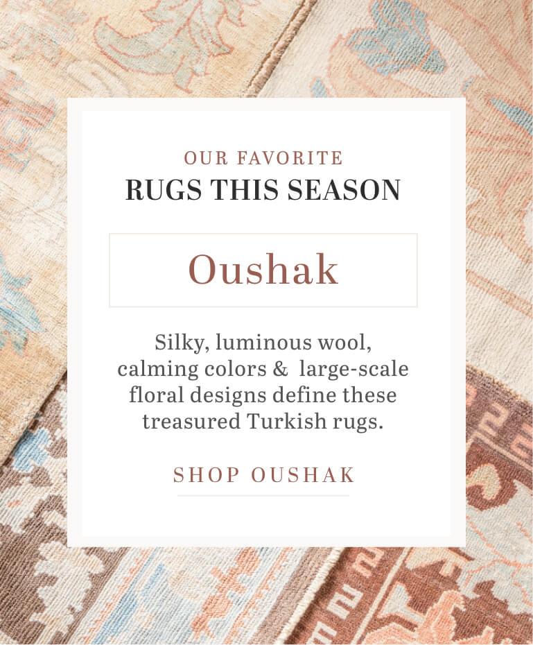 Oushak Rugs image