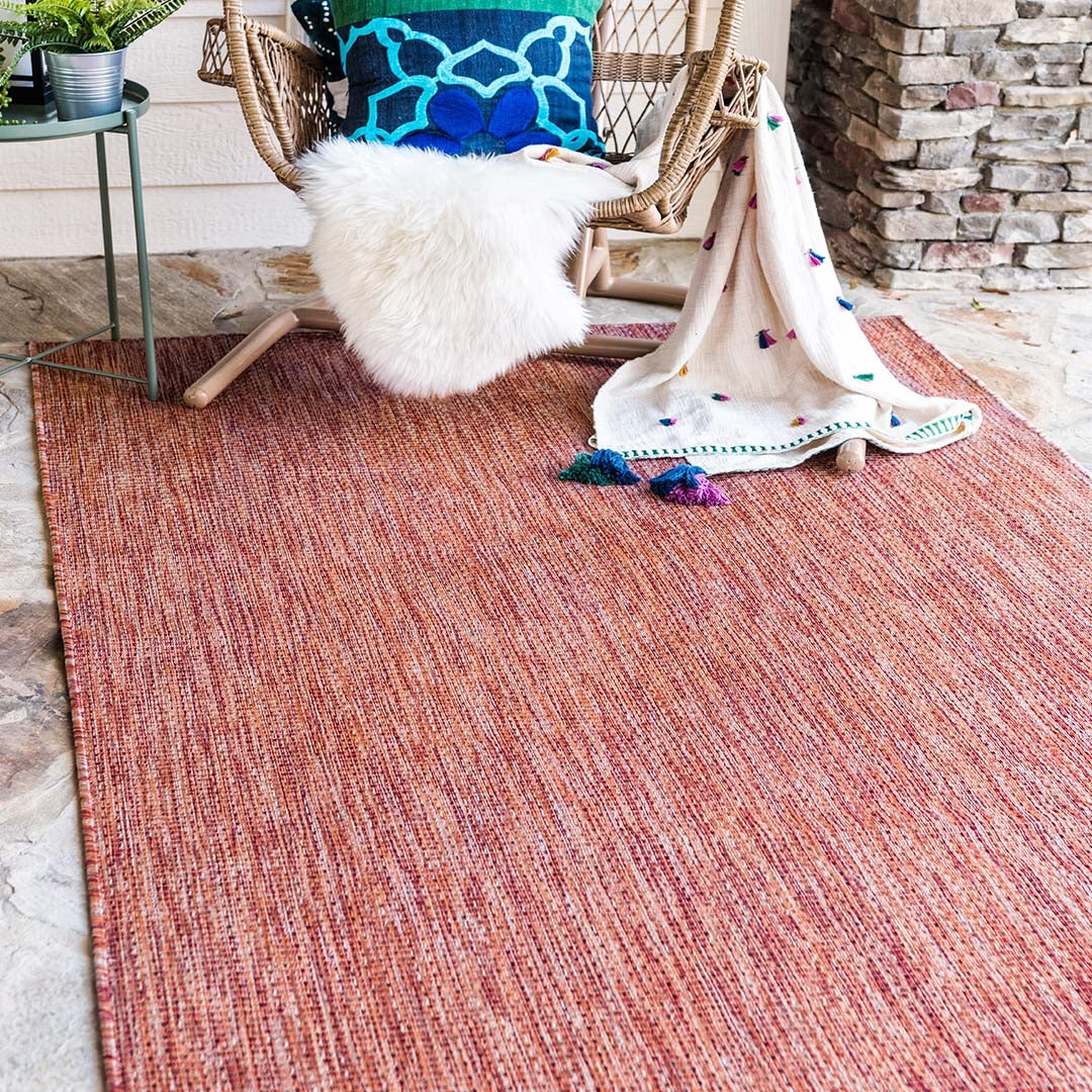 Solid Outdoor Rugs