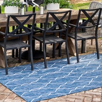 Outdoor Trellis Rugs image