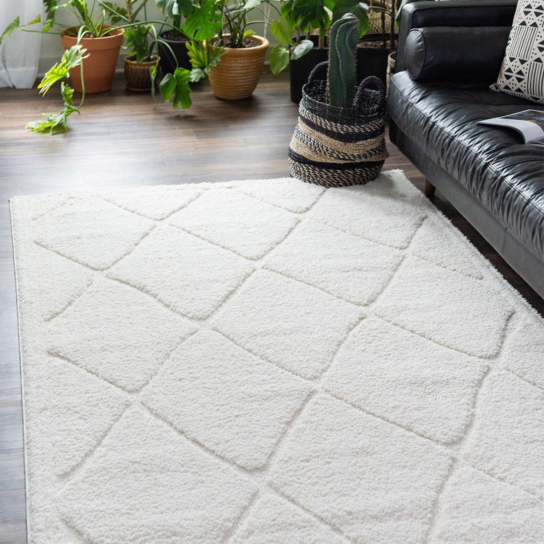 Lattice Shag Rugs
