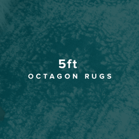 5 FT Octagon Rugs image