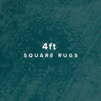 4 FT Square Rugs image