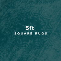 5 FT Square Rugs image