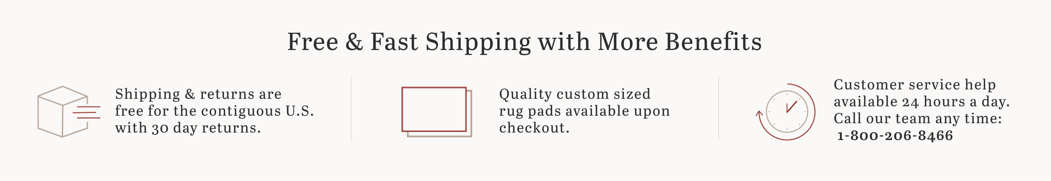 Fast & Free Shipping Image
