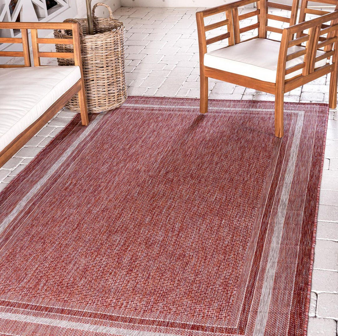 Outdoor Border Rugs