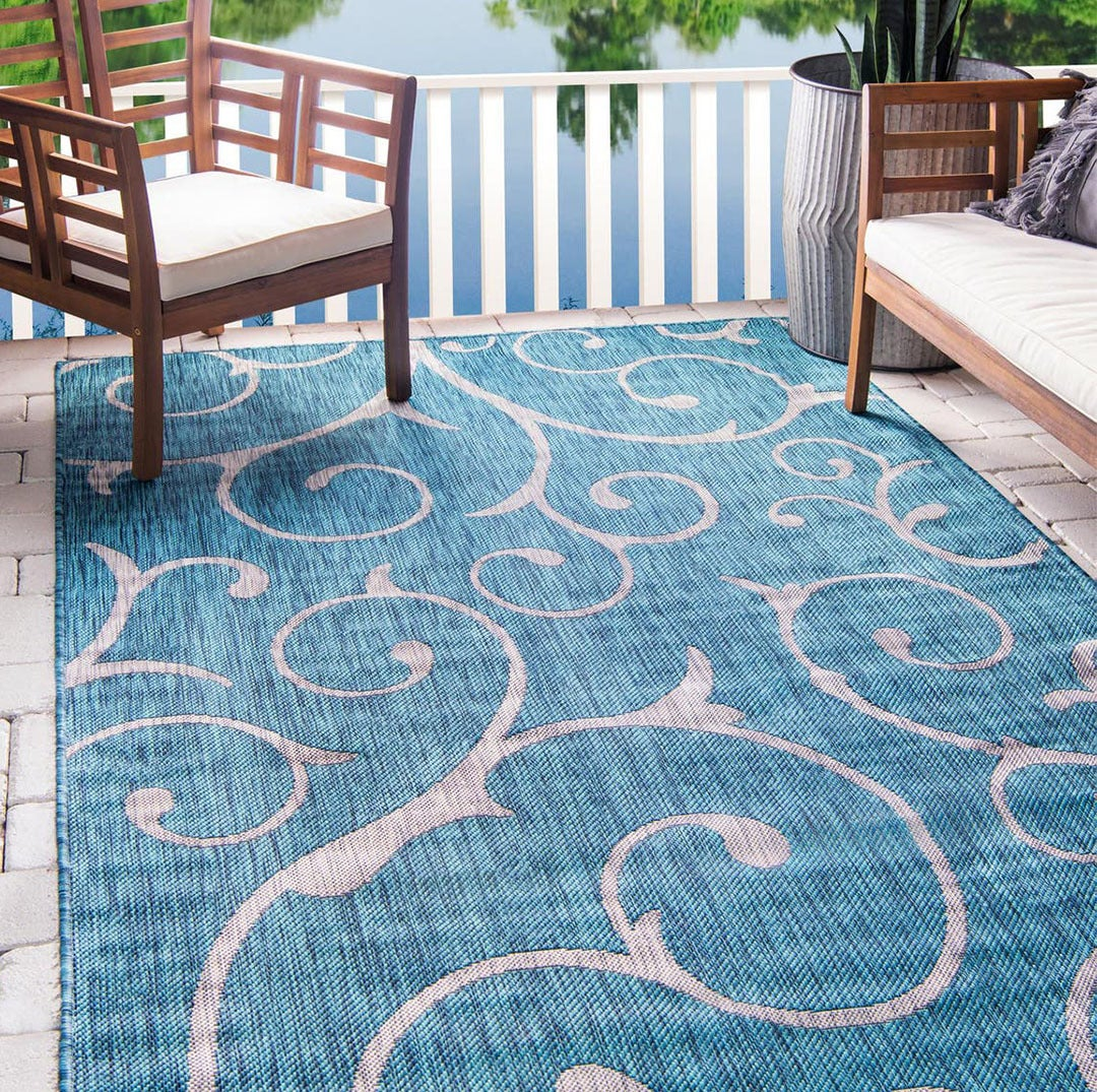 Outdoor Botanical Rugs