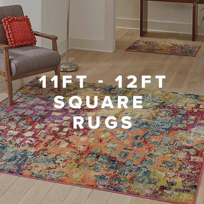 11ft - 12ft Square Rugs