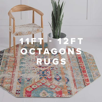 11ft - 12ft Octagon Rugs