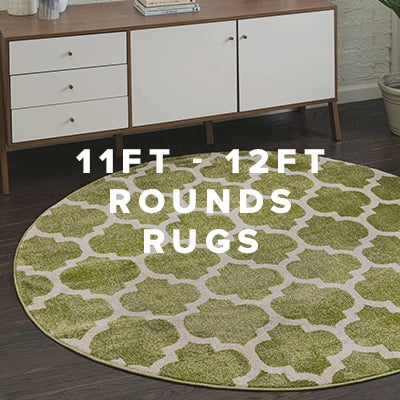 11ft - 12ft Round Rugs