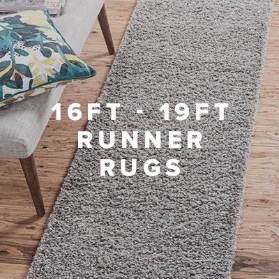16ft - 19ft Runner Rugs