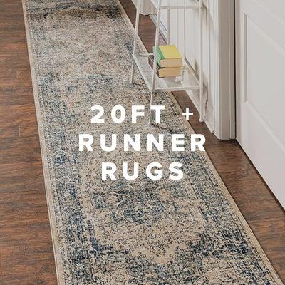 20ft+ Runner Rugs
