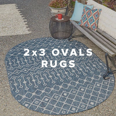 2x3 Oval Rugs