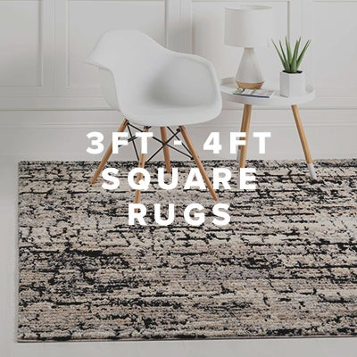 3ft - 4ft Square Rugs