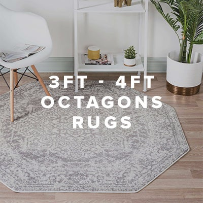 3ft - 4ft Octagon Rugs