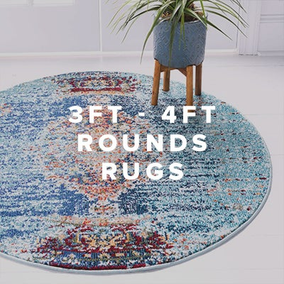 3ft - 4ft Round Rugs