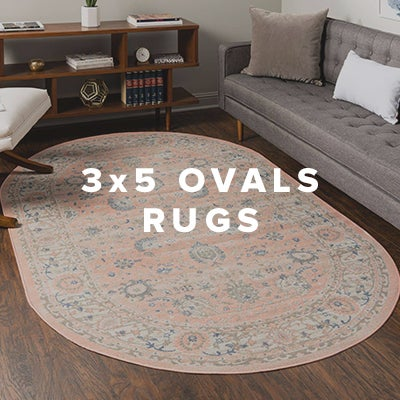 3x5 Oval Rugs