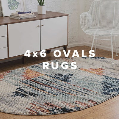4x6 Oval Rugs
