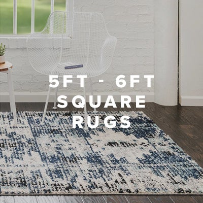 5ft - 6ft Square Rugs