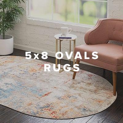 5x8 Oval Rugs
