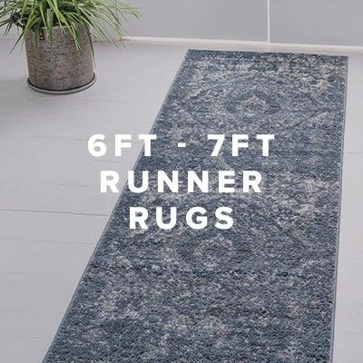 6ft - 7ft Runner Rugs