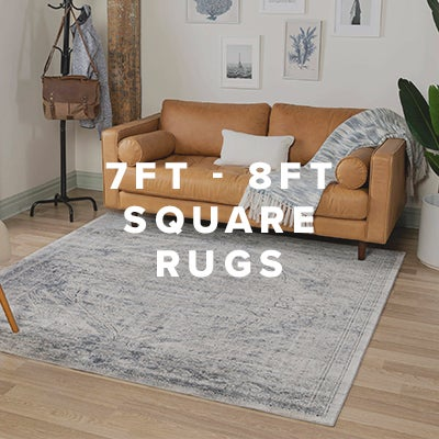 7ft - 8ft Square Rugs