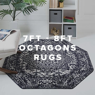 7ft - 8ft Octagon Rugs