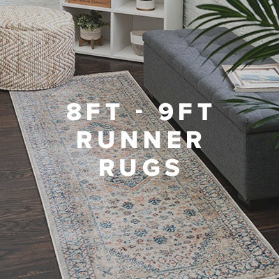 8ft - 9ft Runner Rugs