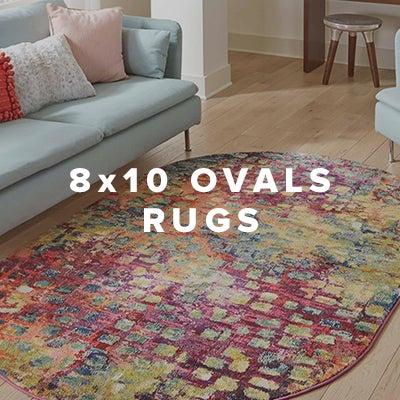 8x10 Oval Rugs