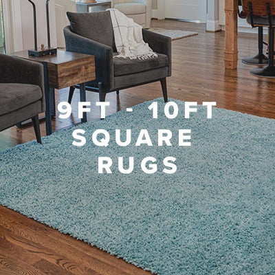 9ft - 10ft Square Rugs