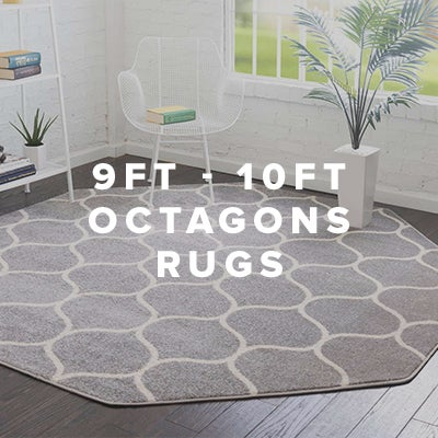 9ft - 10ft Octagon Rugs