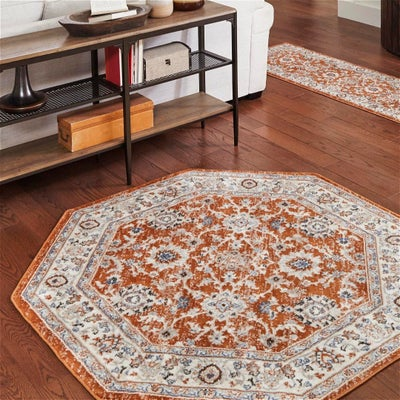 5 FT Octagon Rugs