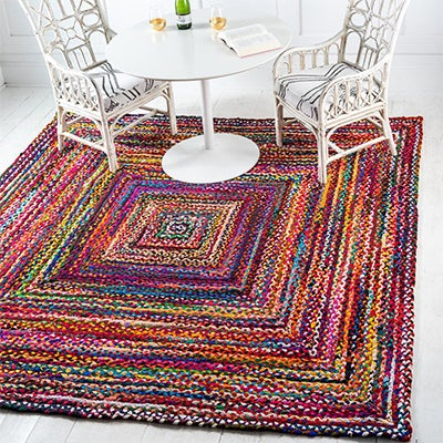 Braided Chindi Rugs