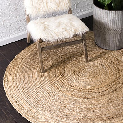 Braided Jute Rugs