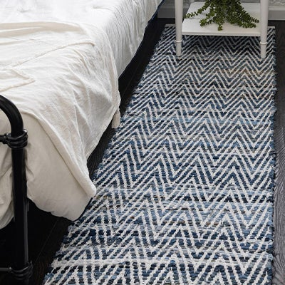 Chindi Chevron Rugs