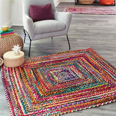 Square Braided Rugs