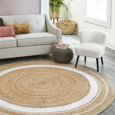 Braided Border Rugs