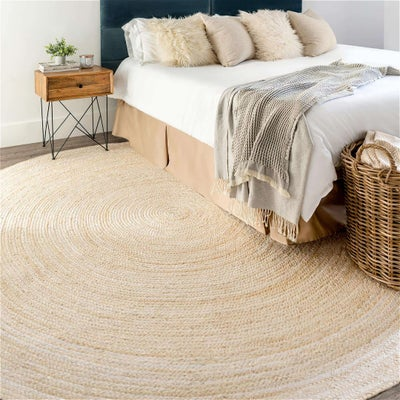 Solid Braided Rugs